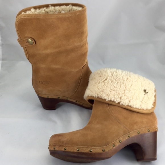 9dea4c4c1ac UGG Lynnea clog ankle boots booties; Nearly New! 7